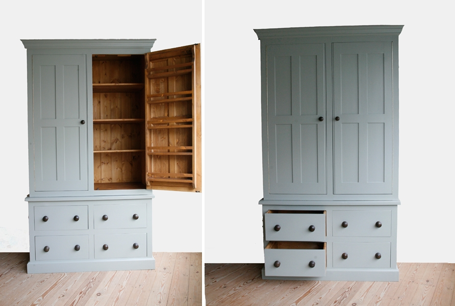 Popular Photo of Free Standing Kitchen Larder Cupboards