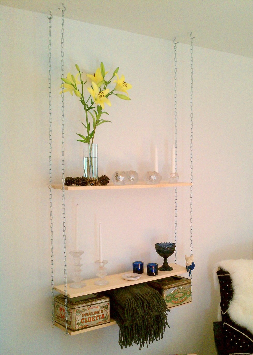 Hang Em Up Ikea Hackers Ikea Hackers Pertaining To Hanging Glass Shelves From Ceiling (#4 of 12)