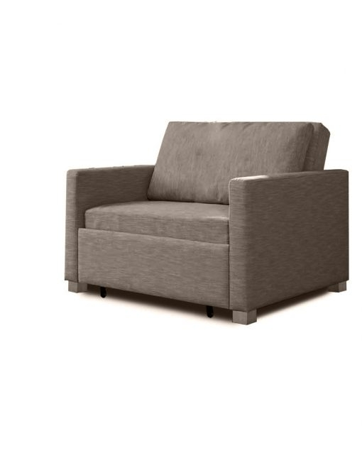 Harmony Single Sofa Bed With Memory Foam Expand Furniture Regarding Single Sofa Beds (View 12 of 15)