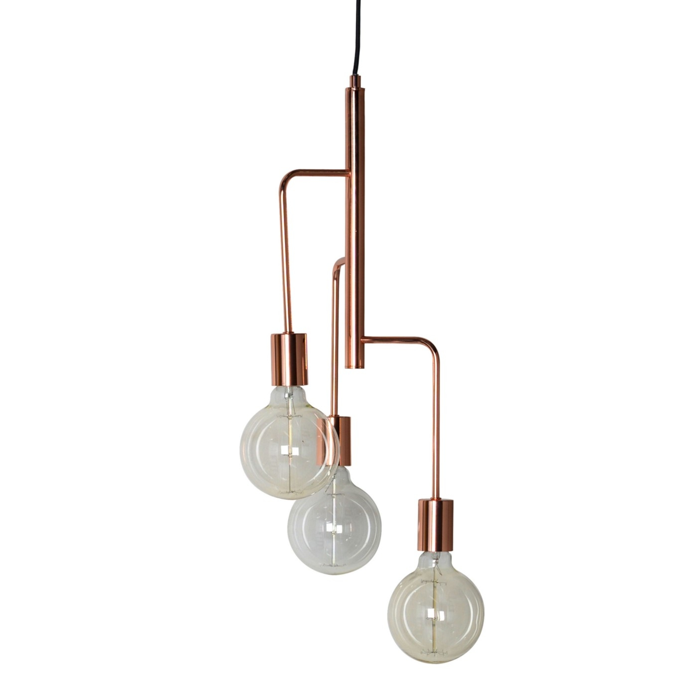 Heals Junction Chandelier Throughout Copper Chandelier (#8 of 12)