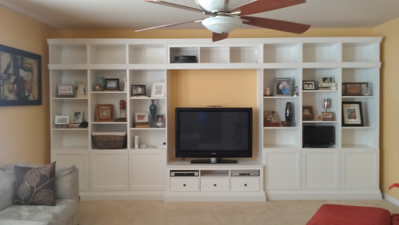Hemnes Wall Unit Google Search Moms Home Pinterest With Regard To Built In Bookcases With Tv (#11 of 15)