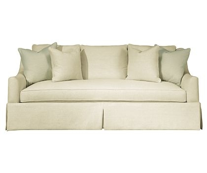Hickory White Sofa Instinctive Interiors At Home The List 6 With One Cushion Sofas (View 2 of 15)