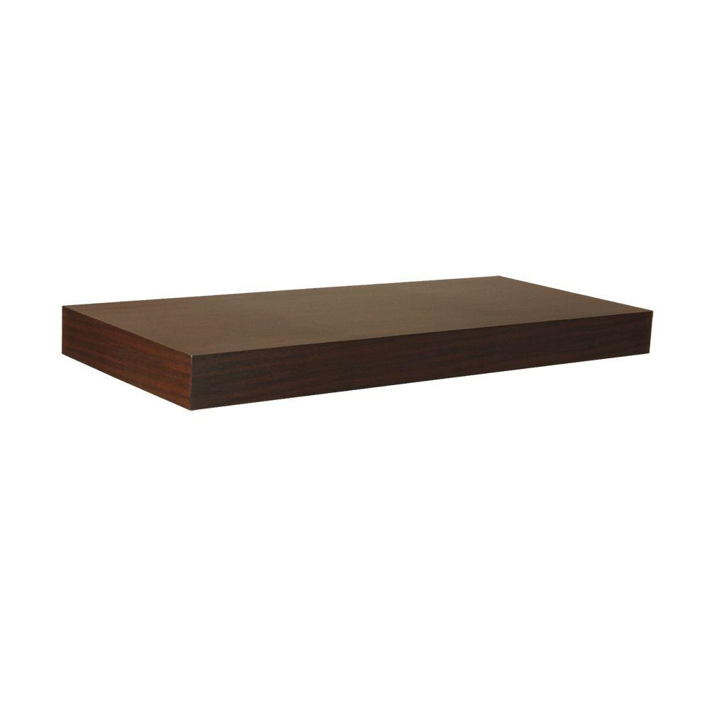 Home Decorators Collection 236 In W X 102 In D X 2 In H For Floating Shelf (#8 of 15)