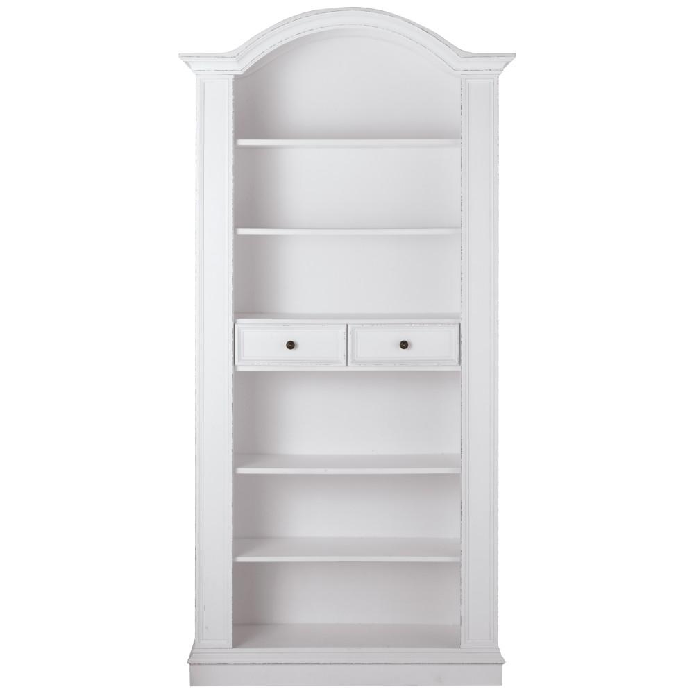 Home Decorators Collection Montego White Open Bookcase 0218410410 For White Bookcase (#10 of 15)