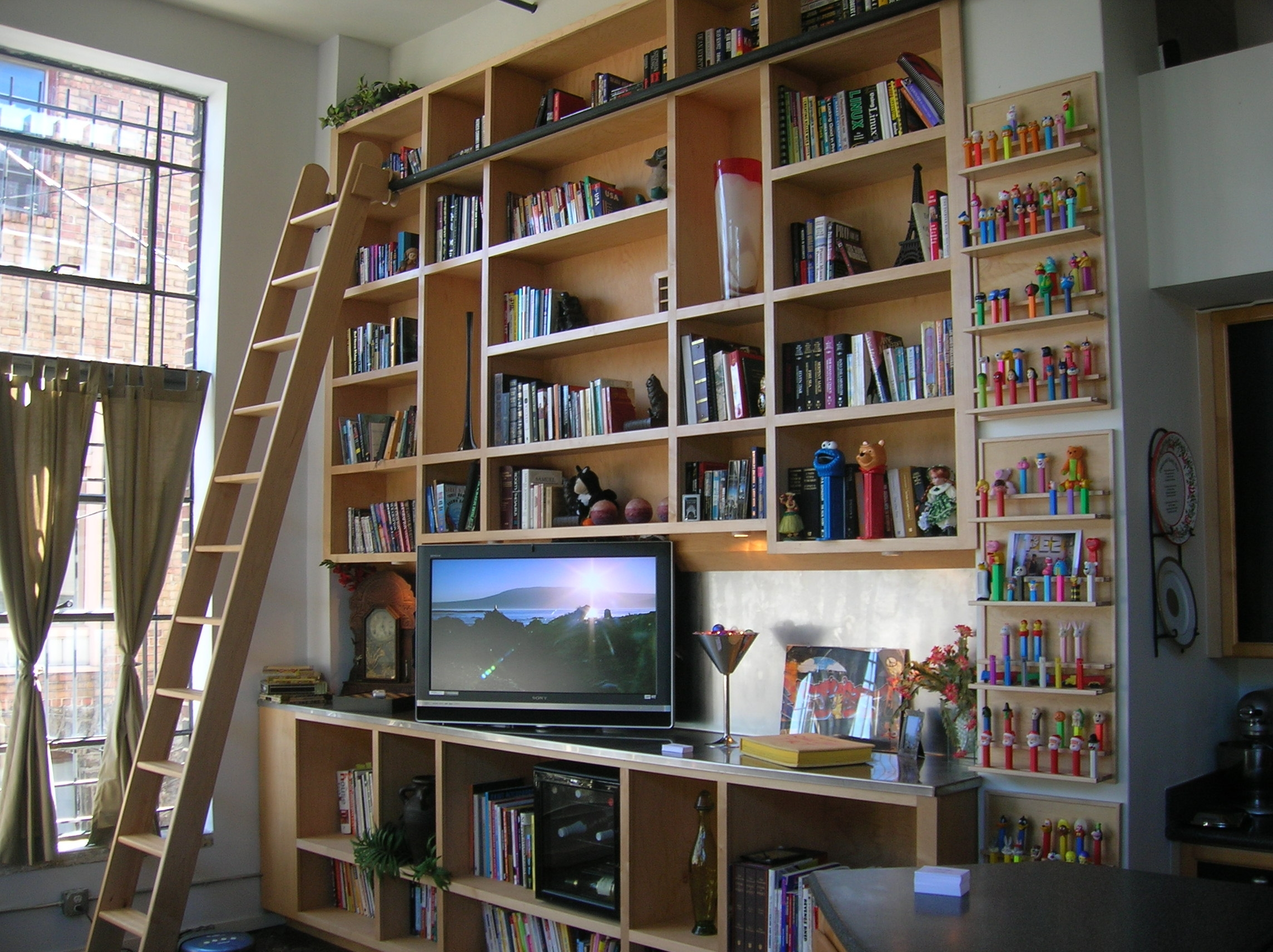 Home Library Shelving Christmas Ideas Home Remodeling Inspirations Regarding Library Shelves For Home (#10 of 15)