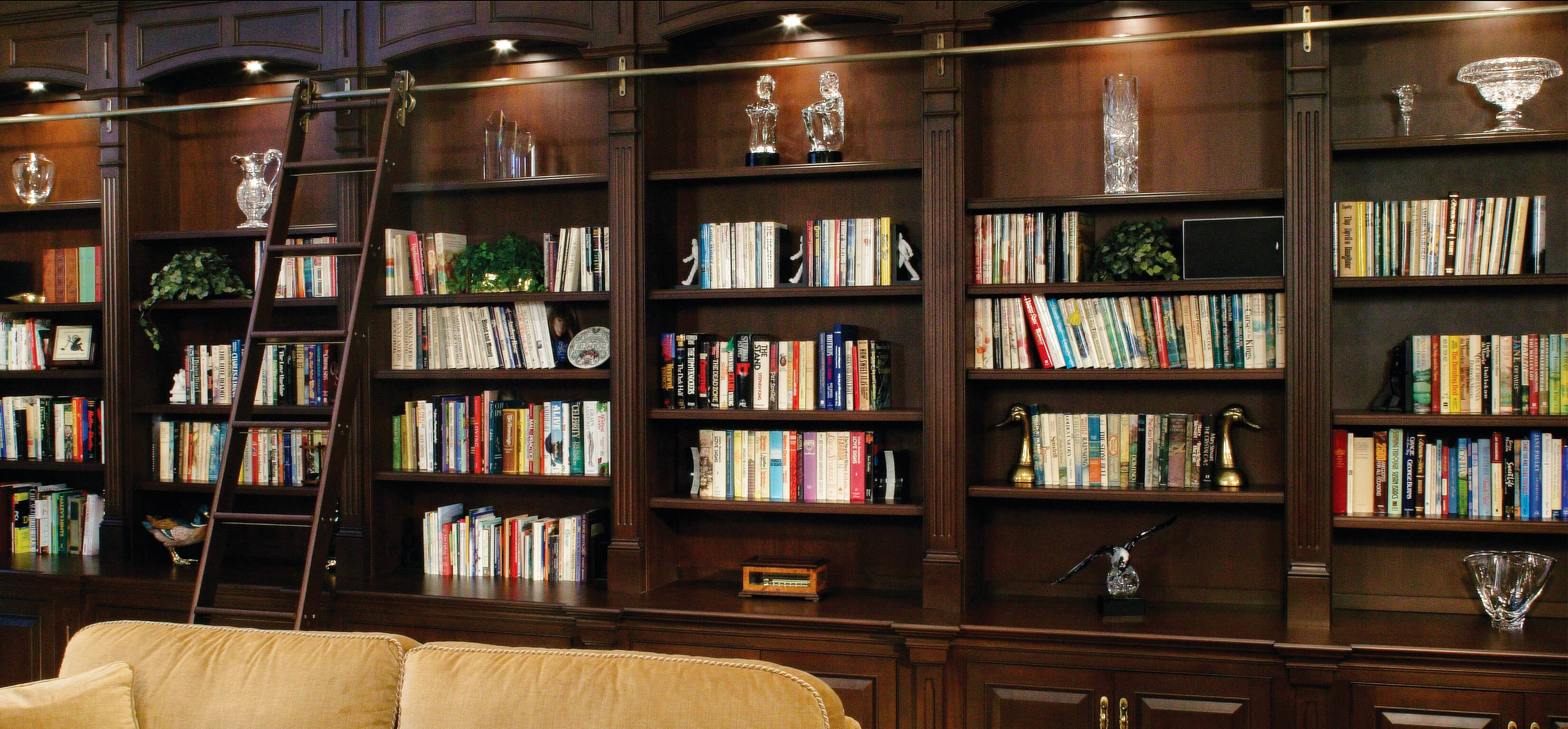 Popular Photo of Home Library Shelving System
