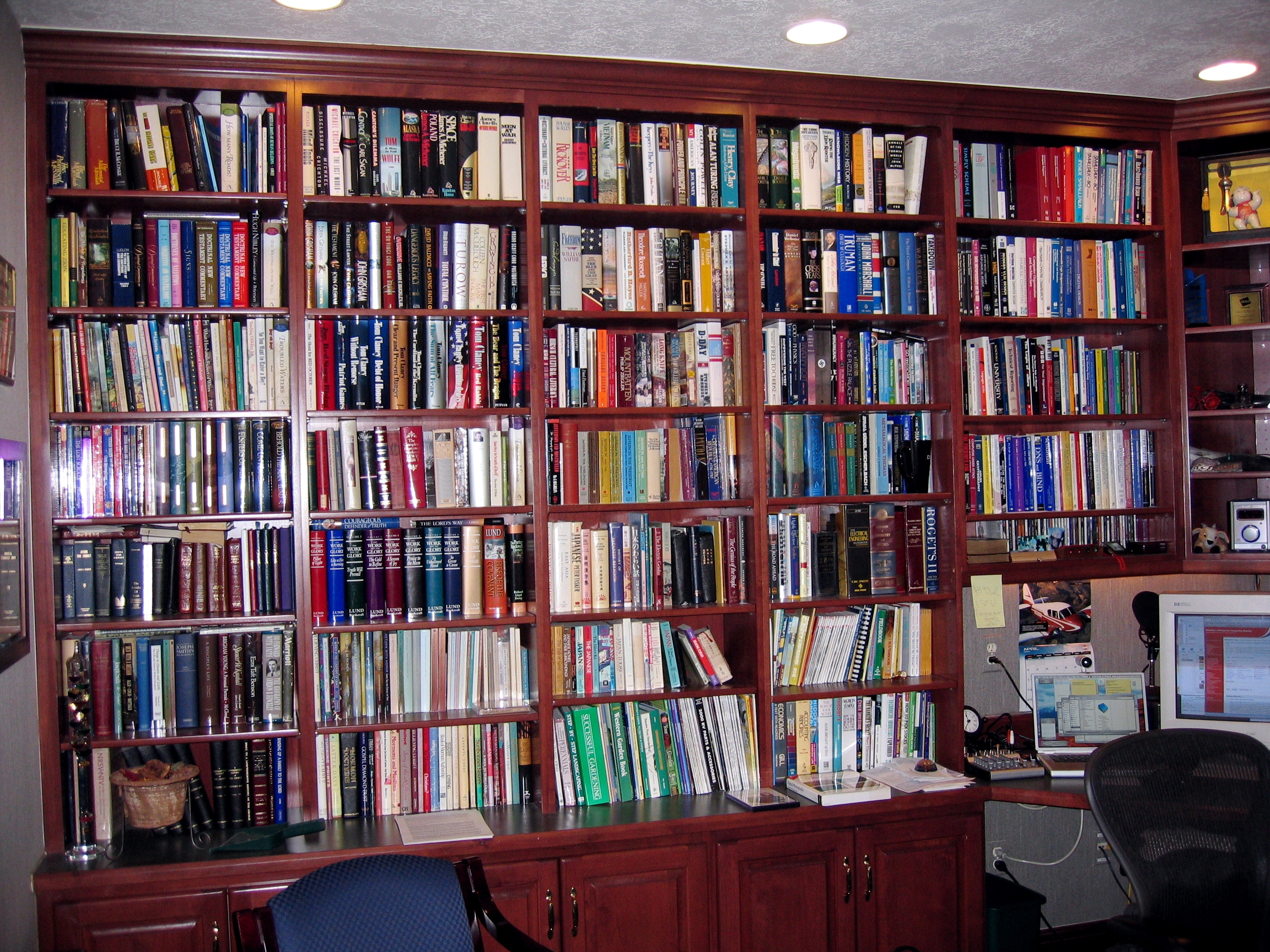Home Library Shelving Surripui Regarding Home Library Shelving System (View 9 of 15)