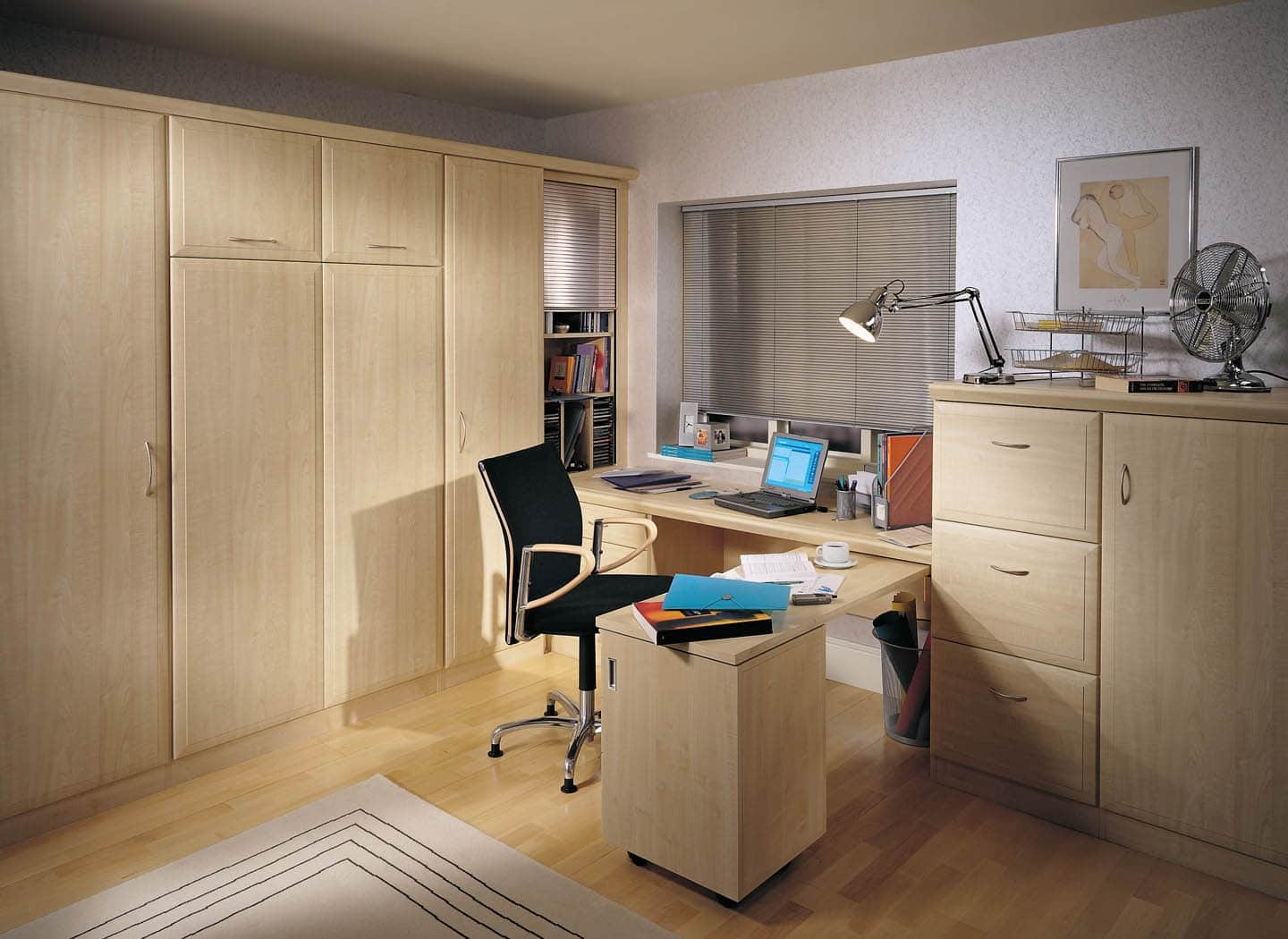 Home Office Bedroom Combinations Strachan In Bespoke Study Furniture (#10 of 15)