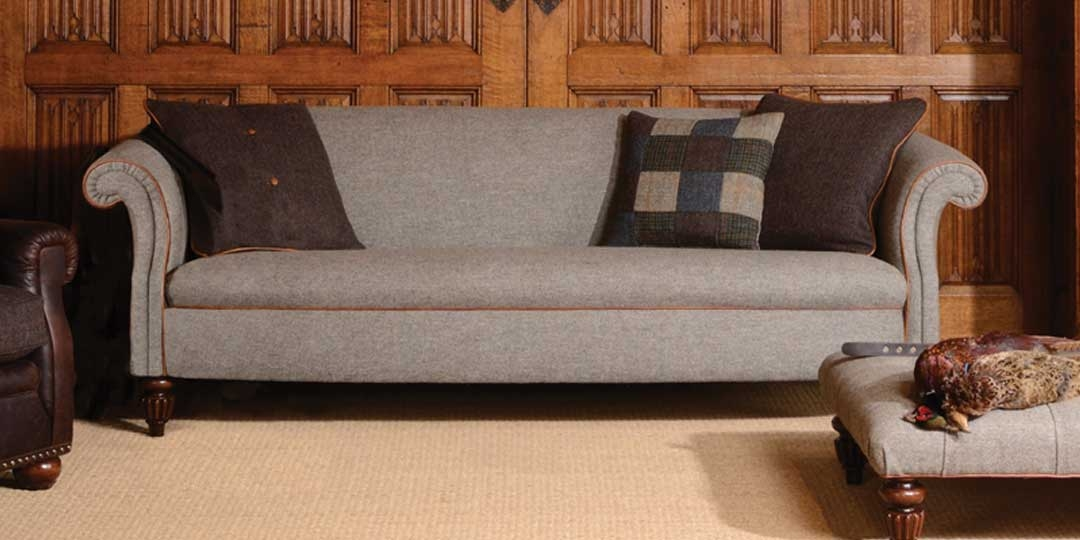 Home Pertaining To Tweed Fabric Sofas (View 6 of 15)