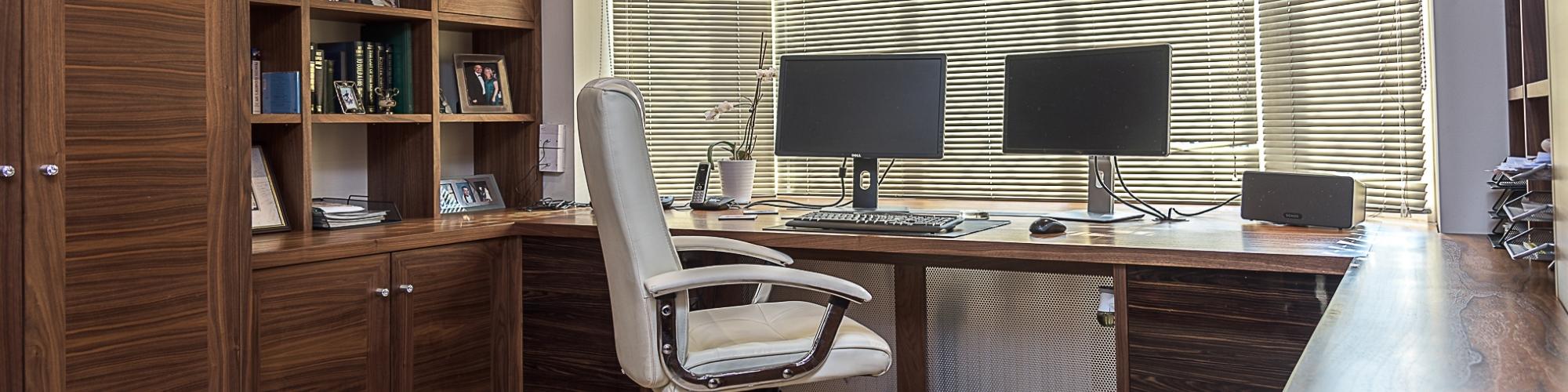Home Study Furniture Homewood Furniture Regarding Bespoke Study Furniture (#11 of 15)