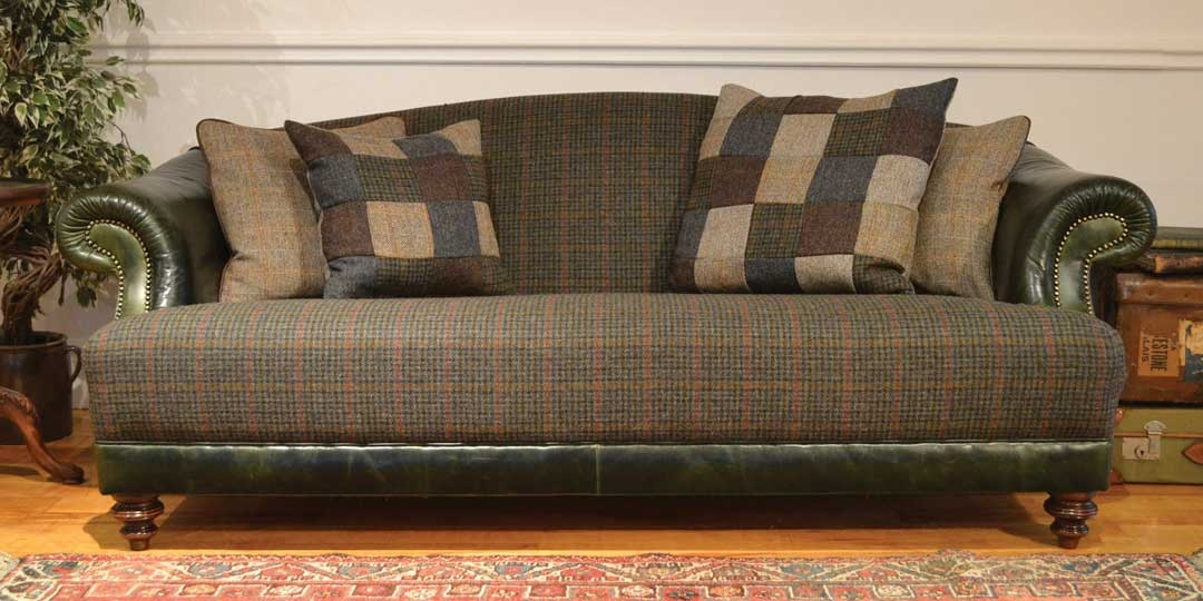 Home Within Tweed Fabric Sofas (#9 of 15)