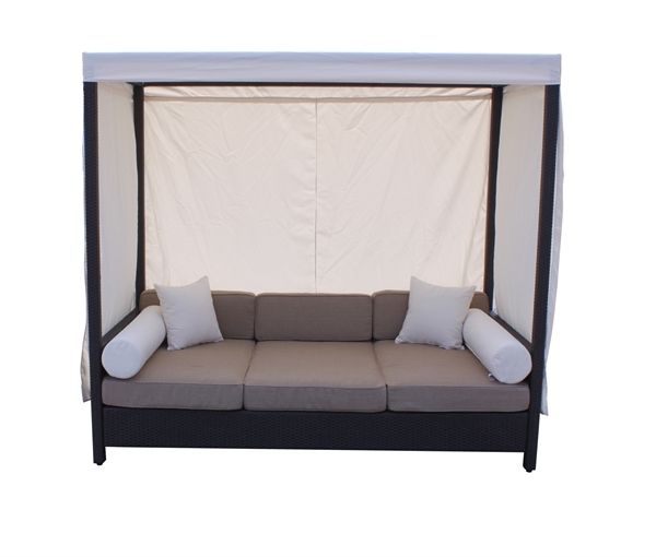 Household Gallery Daybed Sofa With Canopy With Outdoor Sofas With Canopy (#8 of 15)