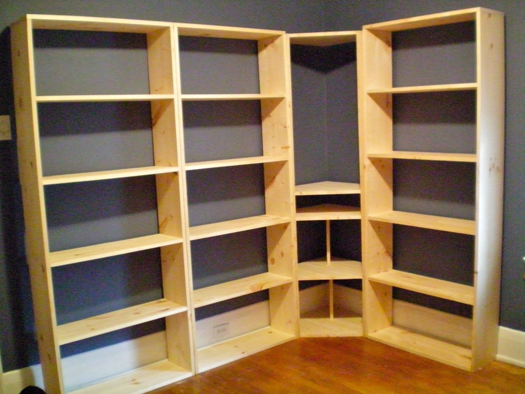 How To Build A Bookcase Wall Unit American Hwy Regarding Build Bookcase Wall (#8 of 15)