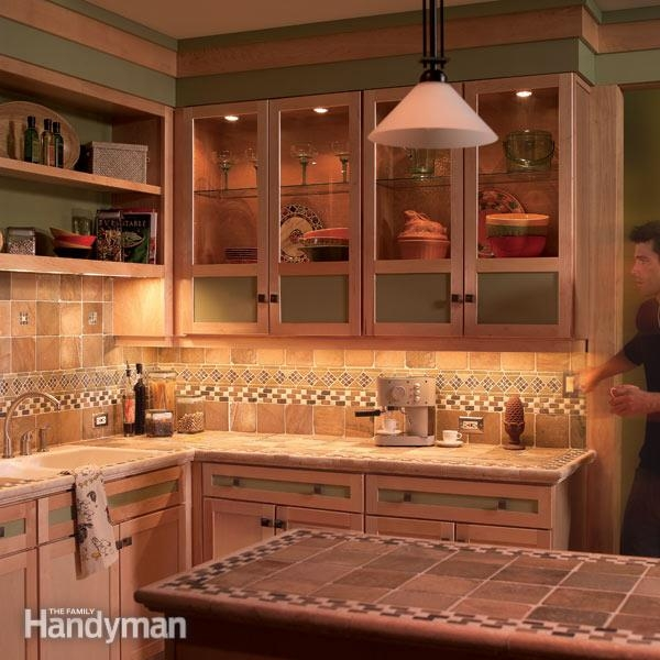 How To Install Under Cabinet Lighting In Your Kitchen Family For Kitchen Under Cupboard Lights (#5 of 15)