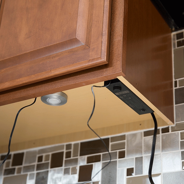 How To Install Under Cabinet Lighting With Kitchen Under Cupboard Lights (#6 of 15)