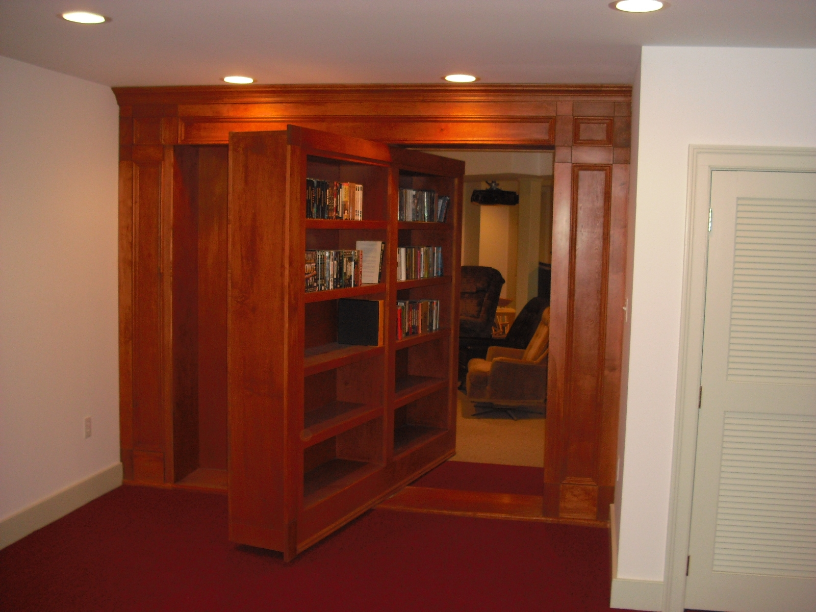 How To Make Secret Bookcase Door Doherty House Intended For Large Bookcase Plans (View 10 of 15)