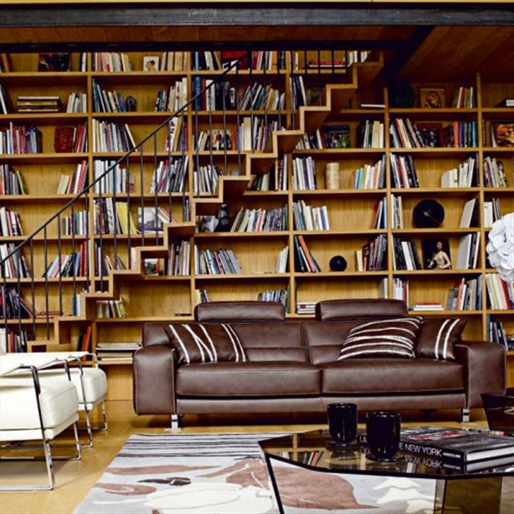 Huge Home Library Christmas Ideas Home Remodeling Inspirations Pertaining To Huge Bookcase (#10 of 15)