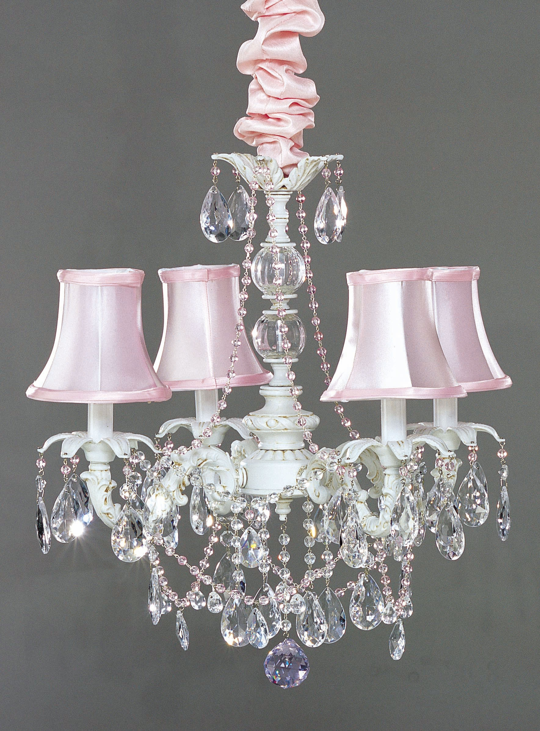 I Lite 4 U Shab Chic Style Mini Chandeliers Lighting For Shabby Chic Chandeliers (#7 of 12)