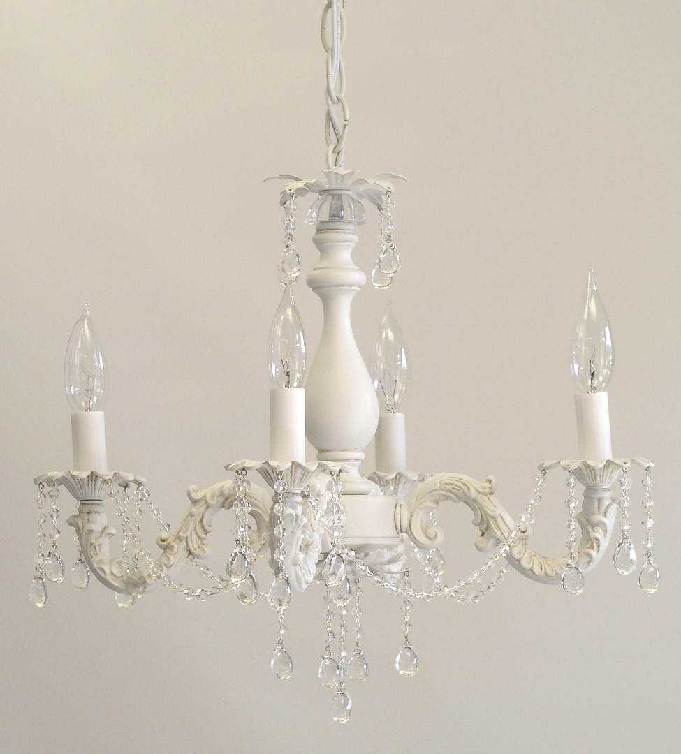I Lite 4 U Shab Chic Style Mini Chandeliers Lighting In Shabby Chic Chandeliers (#8 of 12)