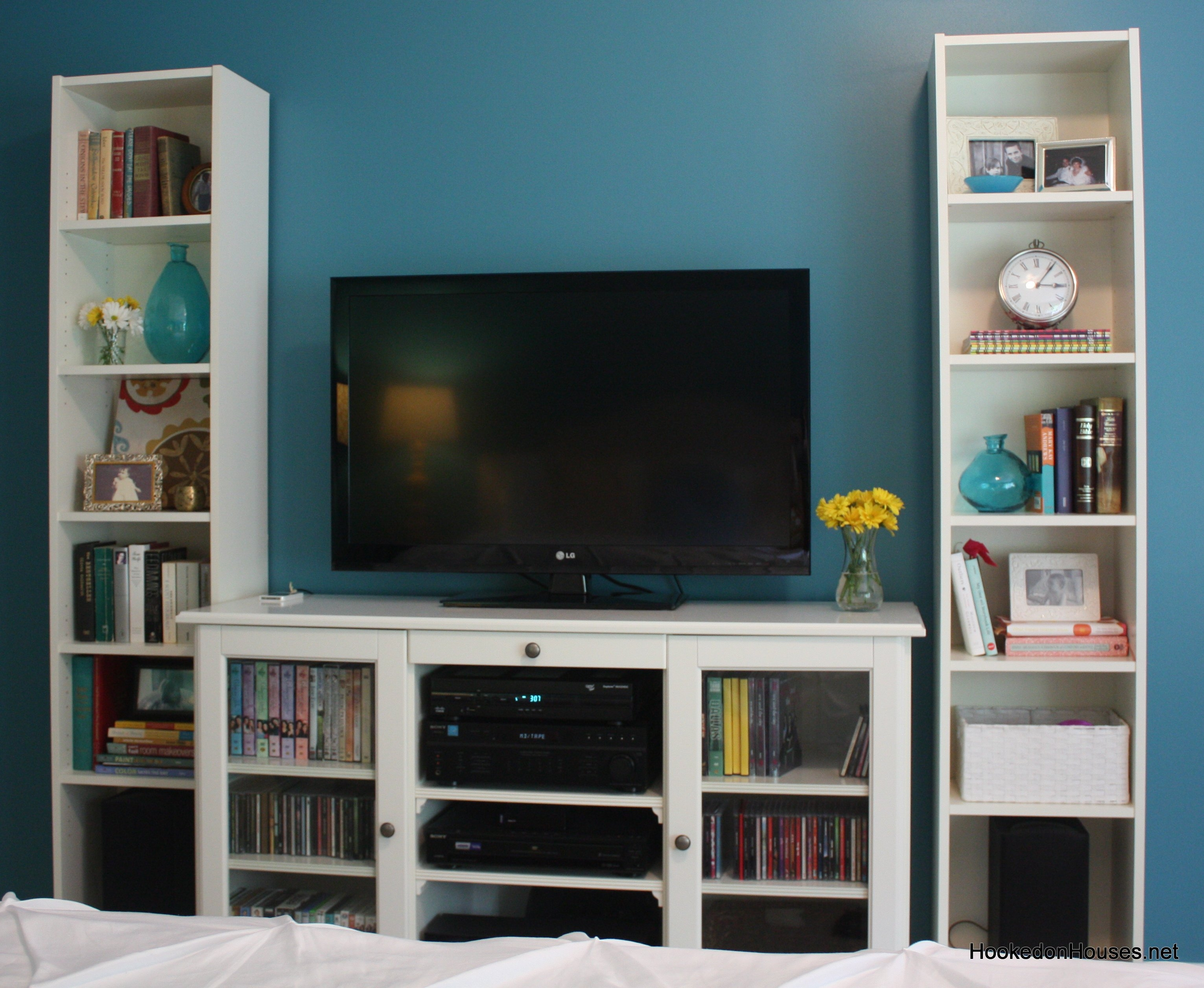 Ikea Bookcase Tv Stand Photo Home Furniture Ideas Intended For Tv Bookcase (#8 of 15)