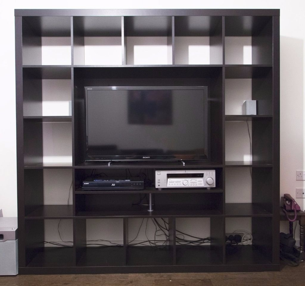 14 inspirations of tv storage unit. Black Bedroom Furniture Sets. Home Design Ideas