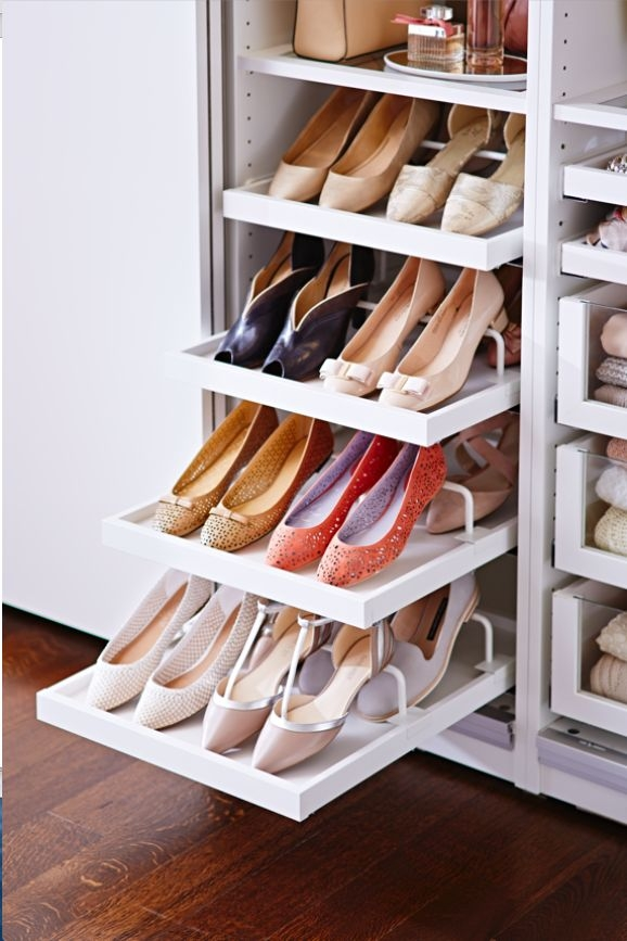 Ikea How To Create A Wardrobe Thats Meant For Sharing Within Wardrobe Shoe Storages (View 12 of 15)