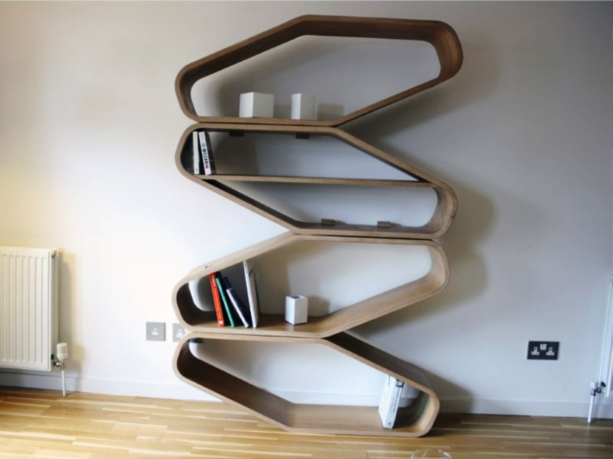 Image Of Free Standing Bookshelves Keeping Your Book Collections Regarding Free Standing Book Shelf (#13 of 15)