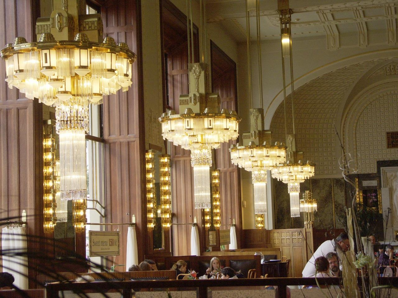 Images Inside Restaurant Chandeliers (#7 of 12)