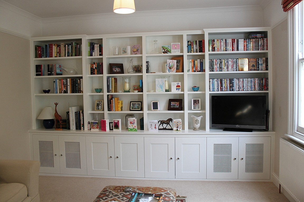 In Bookcases Ideas Inside Fitted Shelving (View 12 of 15)