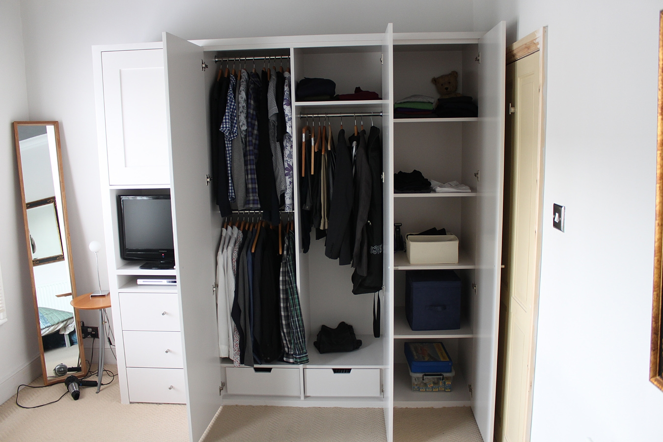 Indian Wardrobe Designs From Inside Google Search Wardrobe Intended For Built In Cupboard Shelving (#12 of 15)