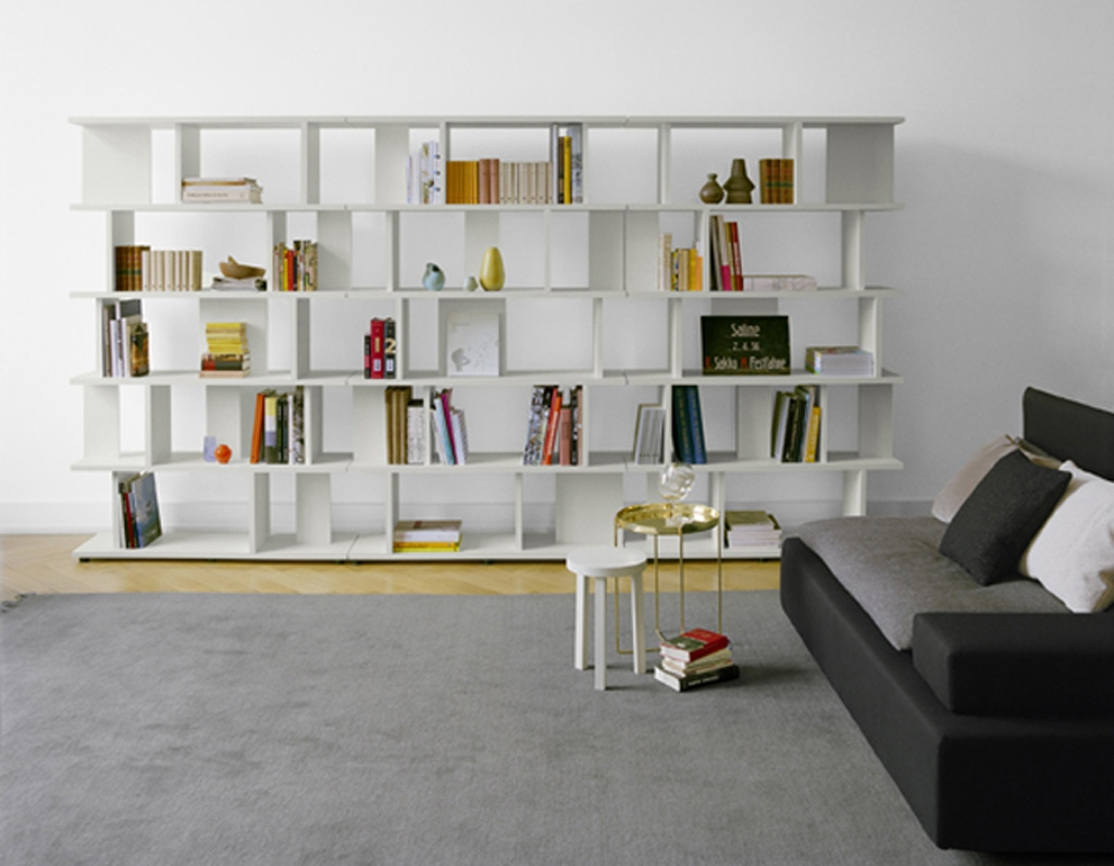 Interior Endearing Interior Design Using Dark Cherry Wood Wall For Design A Bookcase (#14 of 15)