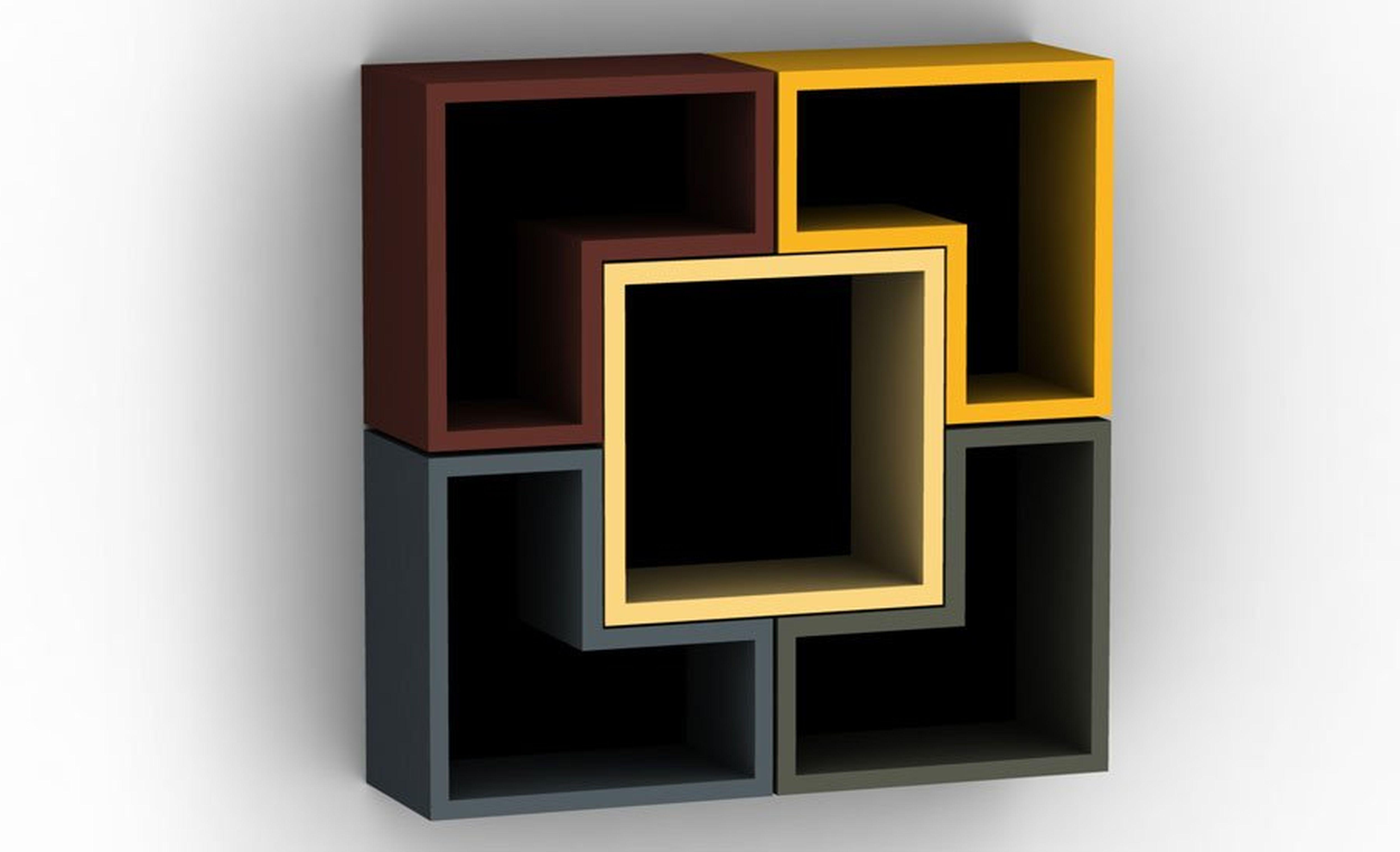 Interior Shelves Design In Bookshelves Designs For Home (#14 of 15)
