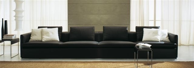 Italian Sofas Nyc All Products Living Sofas Sectionals Sofas Within Long Modern Sofas (#8 of 15)
