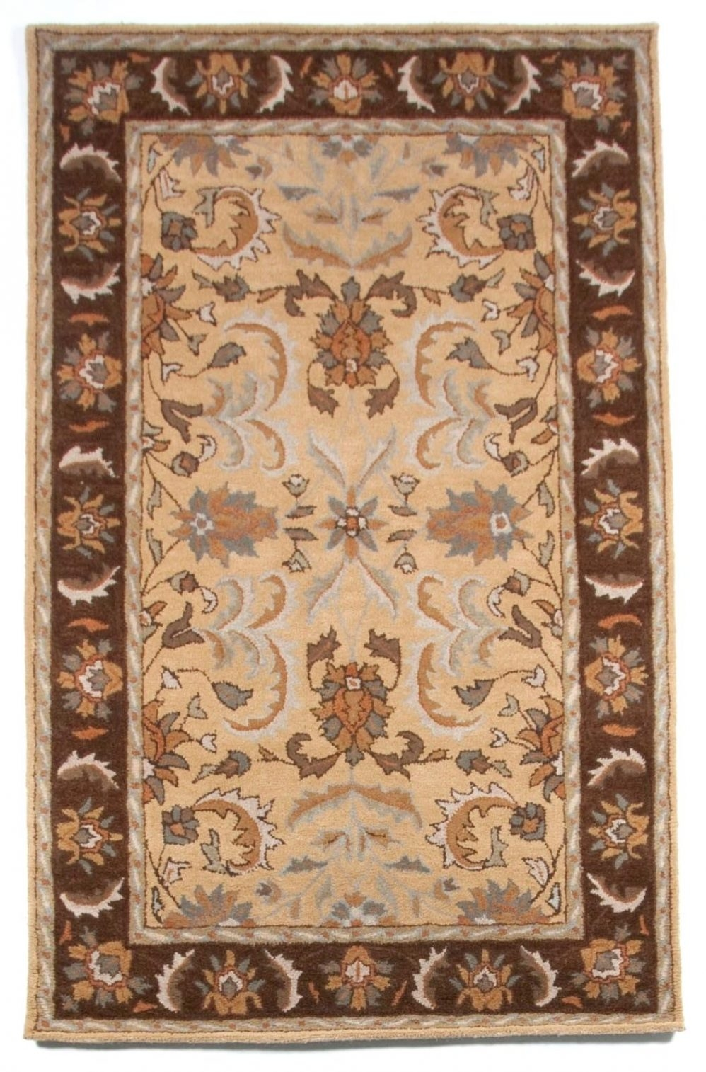 Ivory Area Rugs 58 Elliptical Throughout Large Wool Area Rugs (#9 of 15)