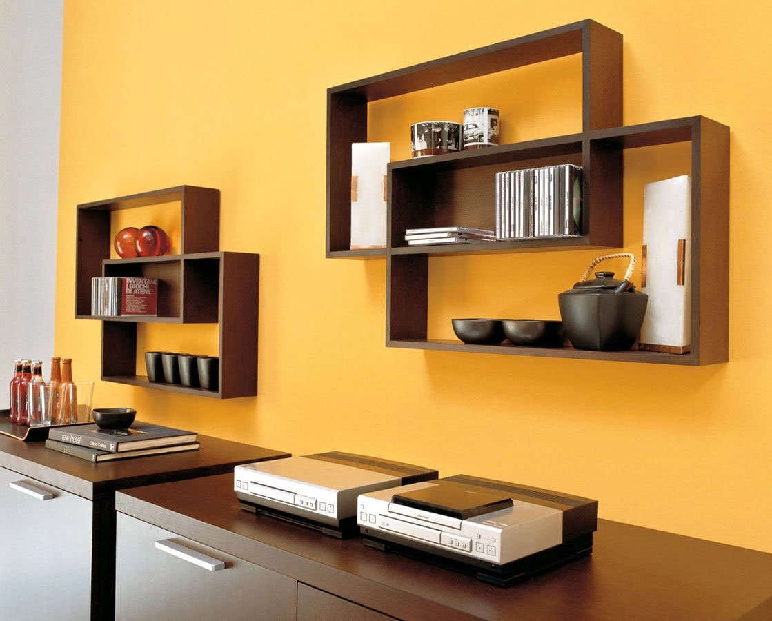 Japanese Wood Shelves Japanese Wooden Wall Decosee Com Kitchen For Wooden Wall Shelves (#3 of 15)