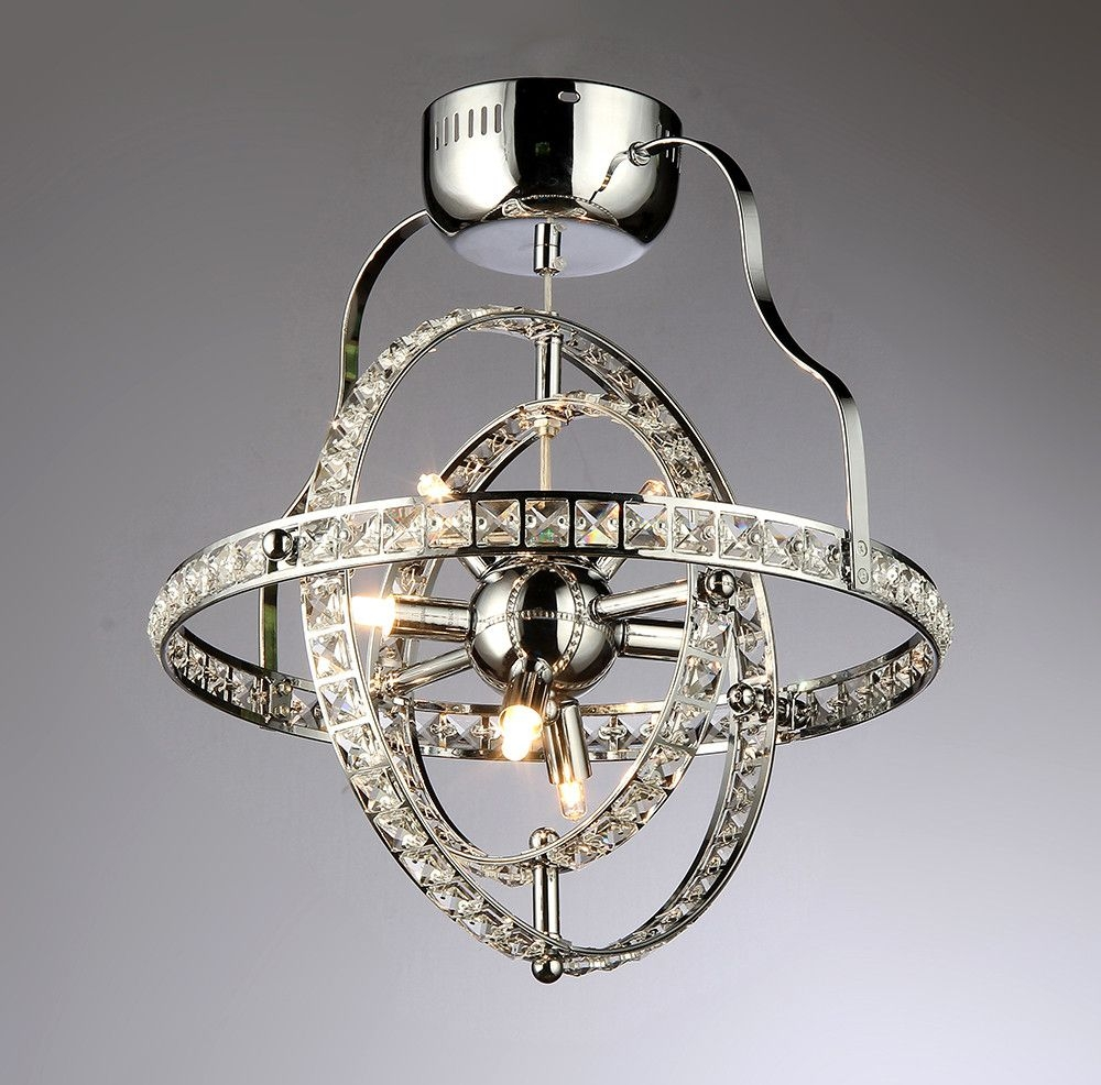 Katies 4 Light Crystal Chandelier Products Pinterest For Weird Chandeliers (#11 of 12)