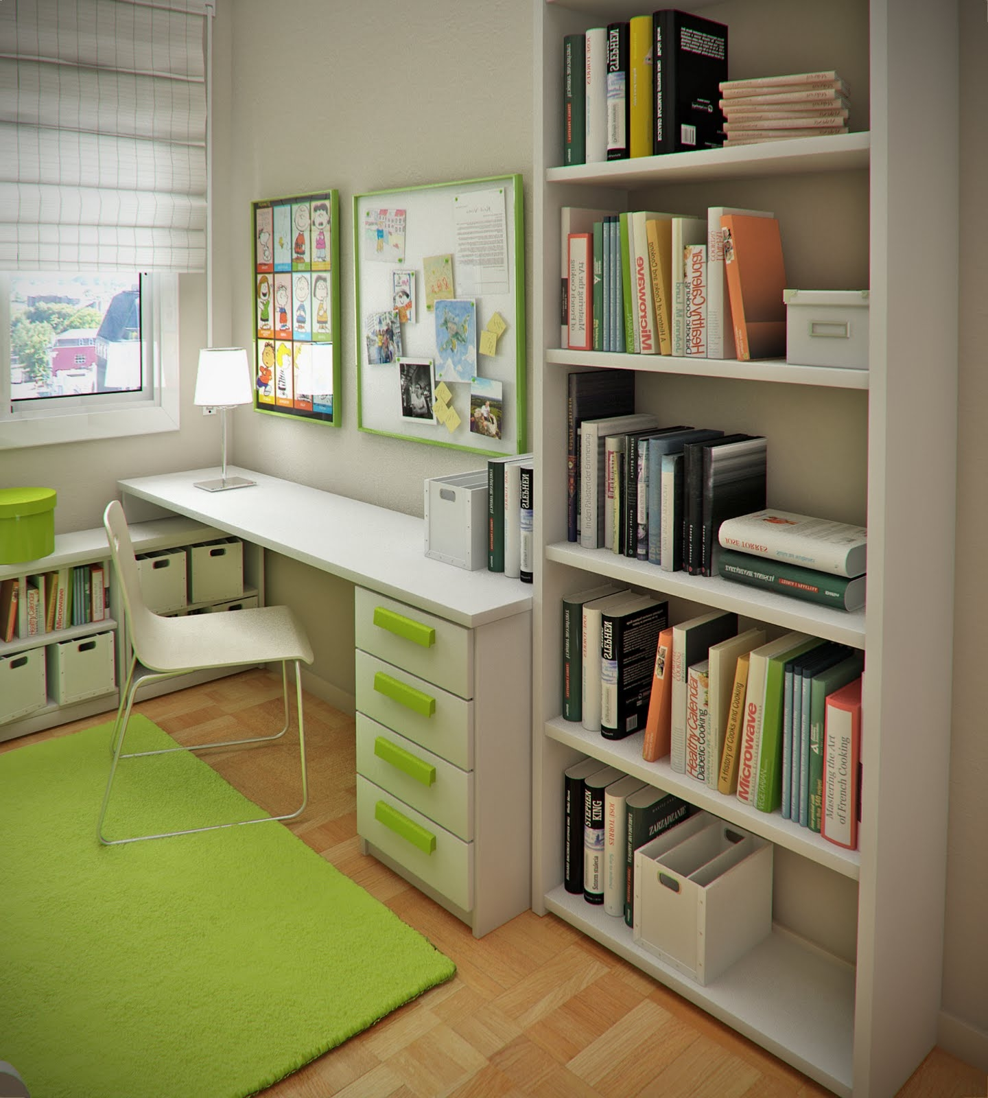 Kids Bedroom Small Space For Kids Room Interior Design White With Regard To Study Cupboard Designs (View 5 of 15)
