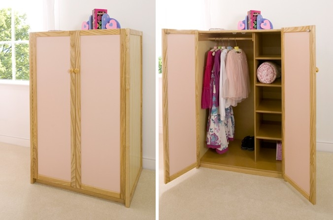 Kids Wardrobes And Cupboards Cbc Regarding Childrens Pink Wardrobes (View 12 of 15)