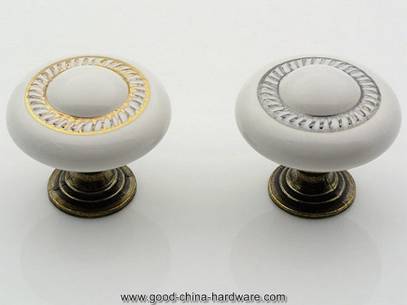 Kitchen Cabinet Knobs Porcelain Knobs Dresser Knob Drawer Knobs With Regard To Porcelain Cupboard Knobs (View 8 of 15)
