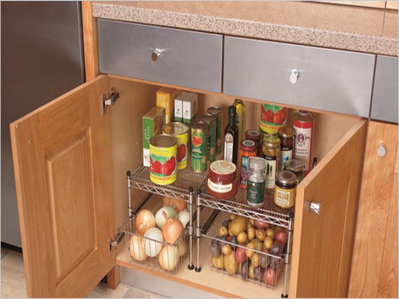 Kitchen Cabinet Organizing Ideas Winters Texas With Cupboard Organizers (View 11 of 15)