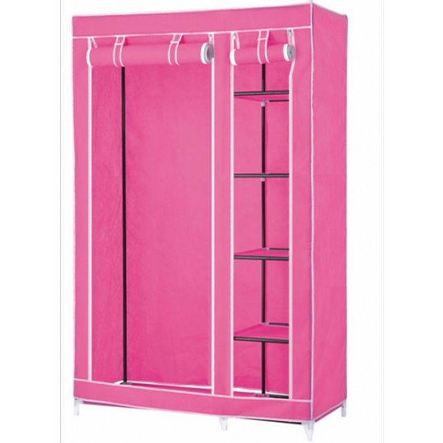 Kitchen New Portable Bedroom Furniture Clothes Wardrobe Closet Regarding Mobile Wardrobe Cabinets (#5 of 15)