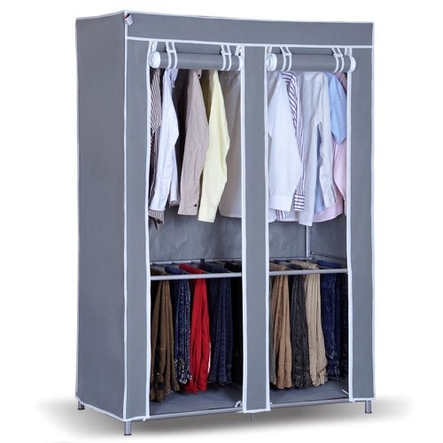 Kitchen New Portable Bedroom Furniture Clothes Wardrobe Closet With Mobile Wardrobe Cabinets (#6 of 15)