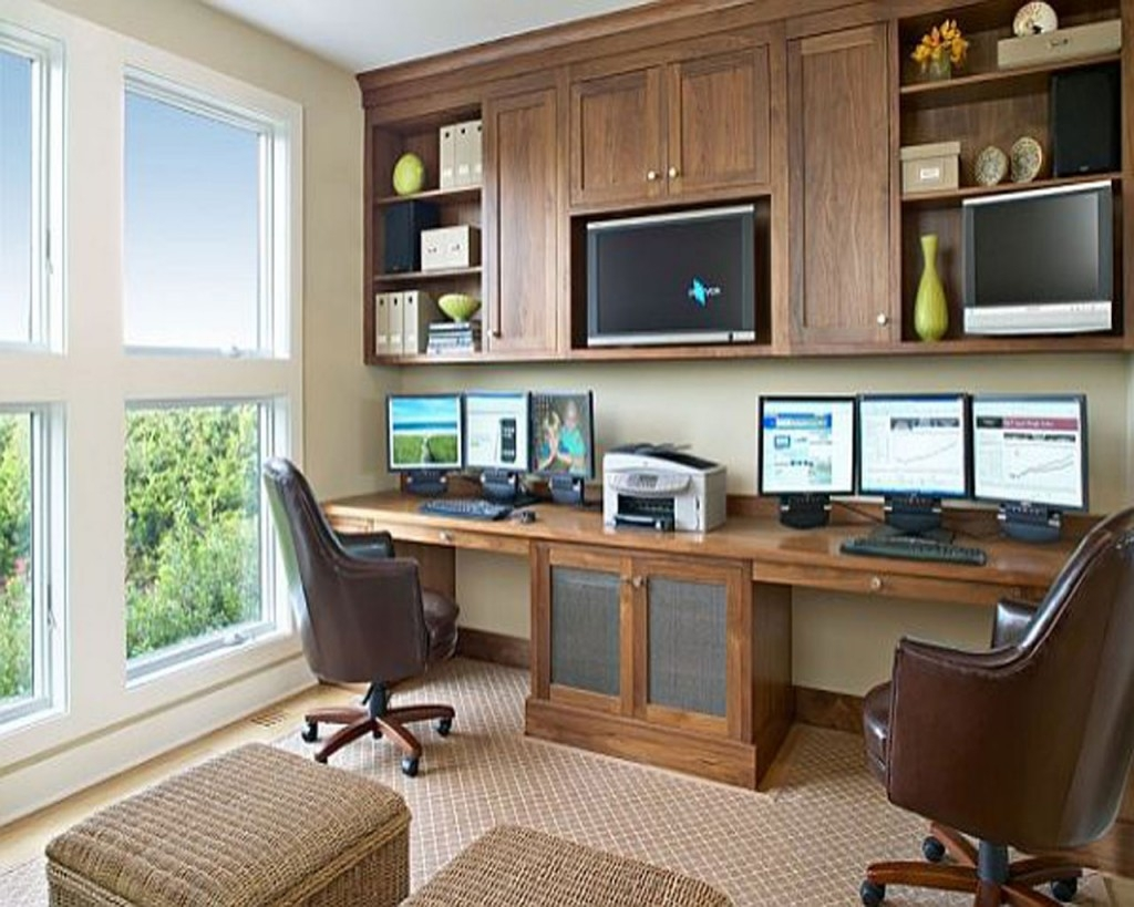 Kitchen Office Furniture Draw Your Own Kitchen Plans Kitchen Cheap Pertaining To Built In Study Furniture (#12 of 15)