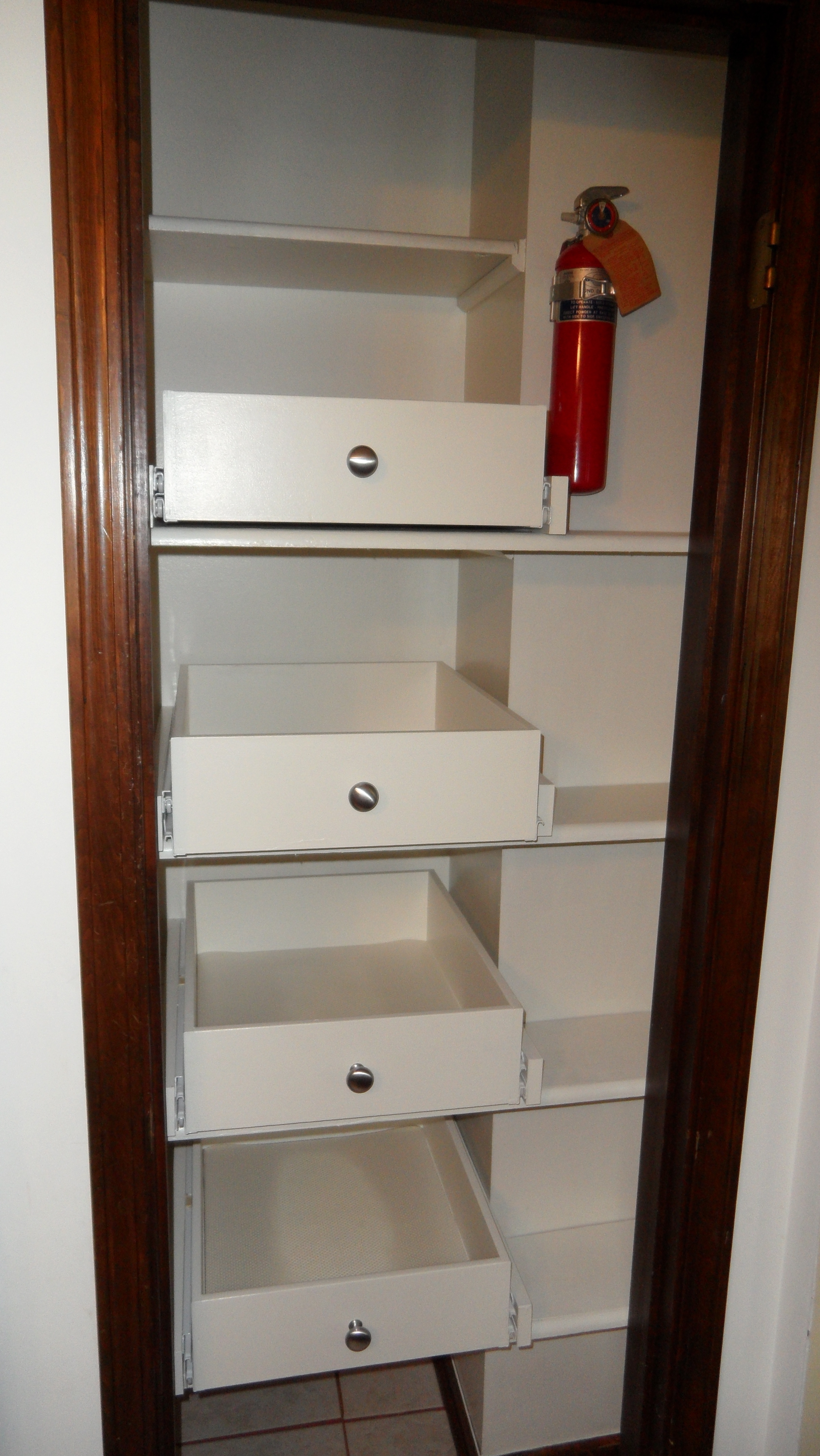 Kitchen Pantry Cabinet Pull Out Shelf Storage Sliding Shelves With Large Cupboard With Shelves (#6 of 15)