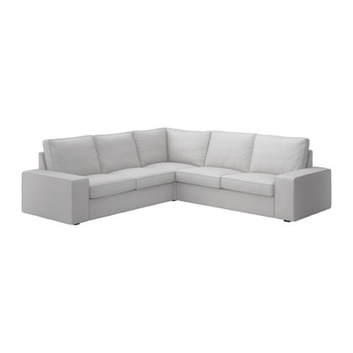 Kivik Sectional 4 Seat Corner Orrsta Light Gray Ikea In 2×2 Corner Sofas (#8 of 15)