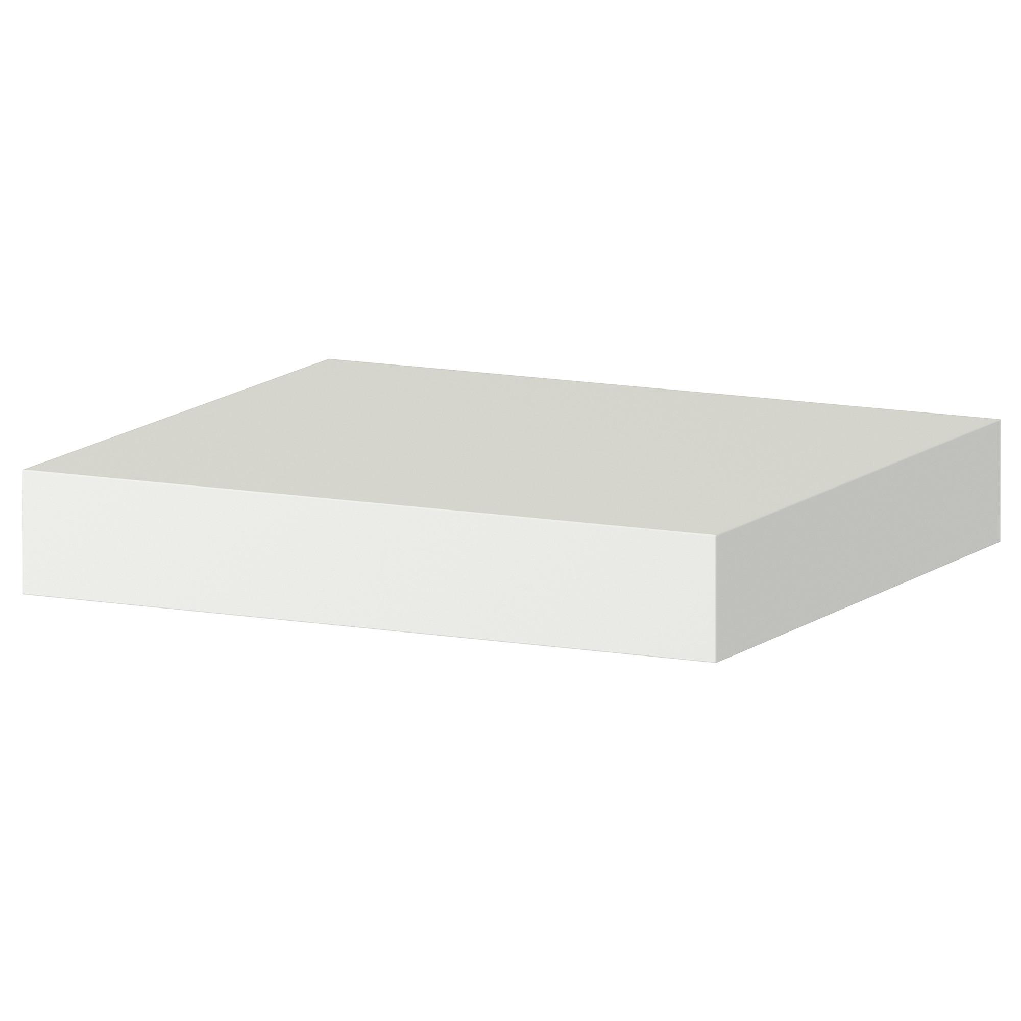 Lack Wall Shelf White Ikea Regarding White Wall Shelves (#5 of 15)