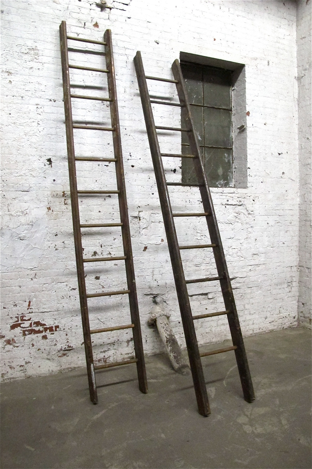 Popular Photo of Wooden Library Ladders