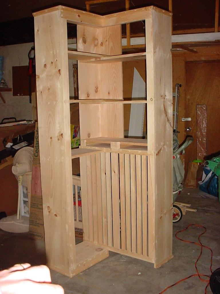 Lakota Custom Designs Custom Solid Wood Furniture All Solid In Radiator Cabinet Bookcase (#10 of 15)