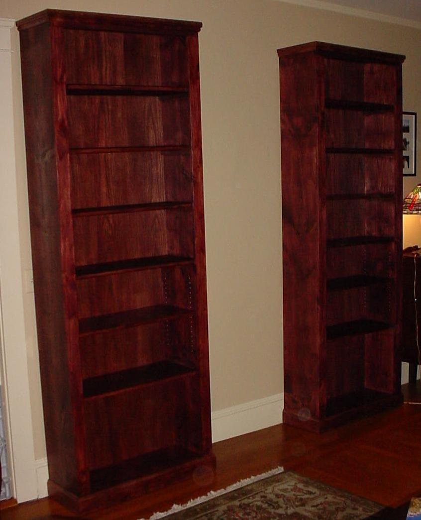 Lakota Custom Designs Custom Solid Wood Furniture All Solid With Solid Wood Bookcases (#6 of 15)