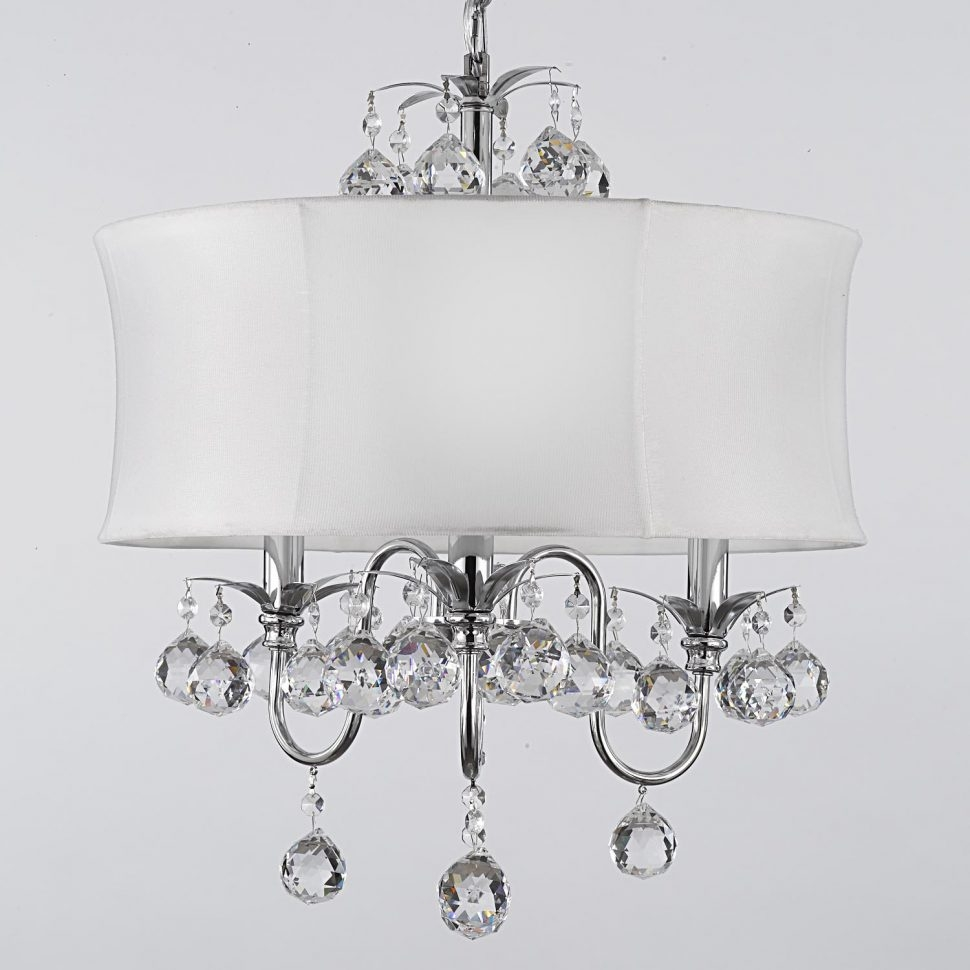 Lamps Ceiling Chandeliers Modern White Chandelier Ceiling Light With White Contemporary Chandelier (#7 of 12)